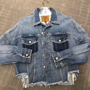 PRPS Denim Distressed Jacket